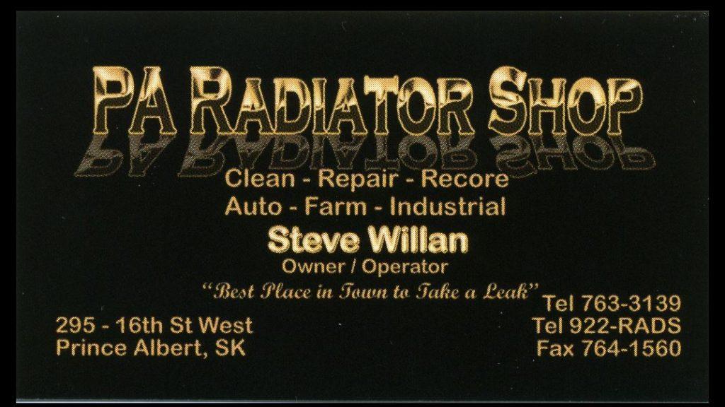 Prince Albert Radiator Shop